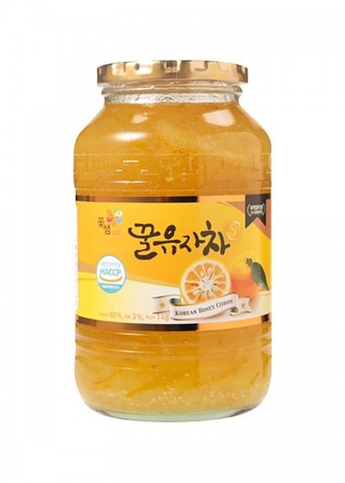 꿀유자차 1 영