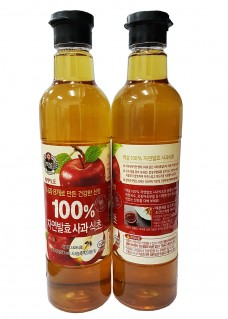 100프로사과식초
