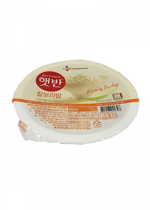 찰보리밥 영
