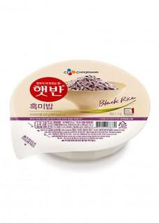 흑미밥 영