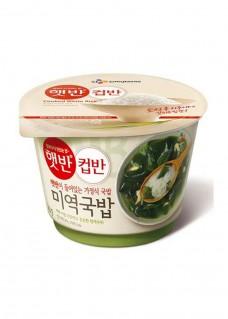 컵반미역국밥 영