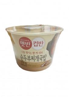 컵반 순두부찌게국밥 영