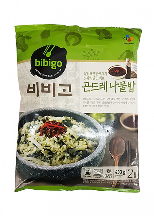 비비고곤드레나물밥 영