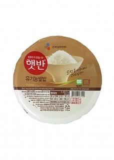 유기농쌀밥 영