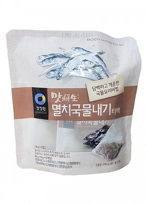 맛선생 멸치국물내기 티백 영