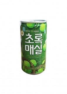 초록매실 캔180ml 영